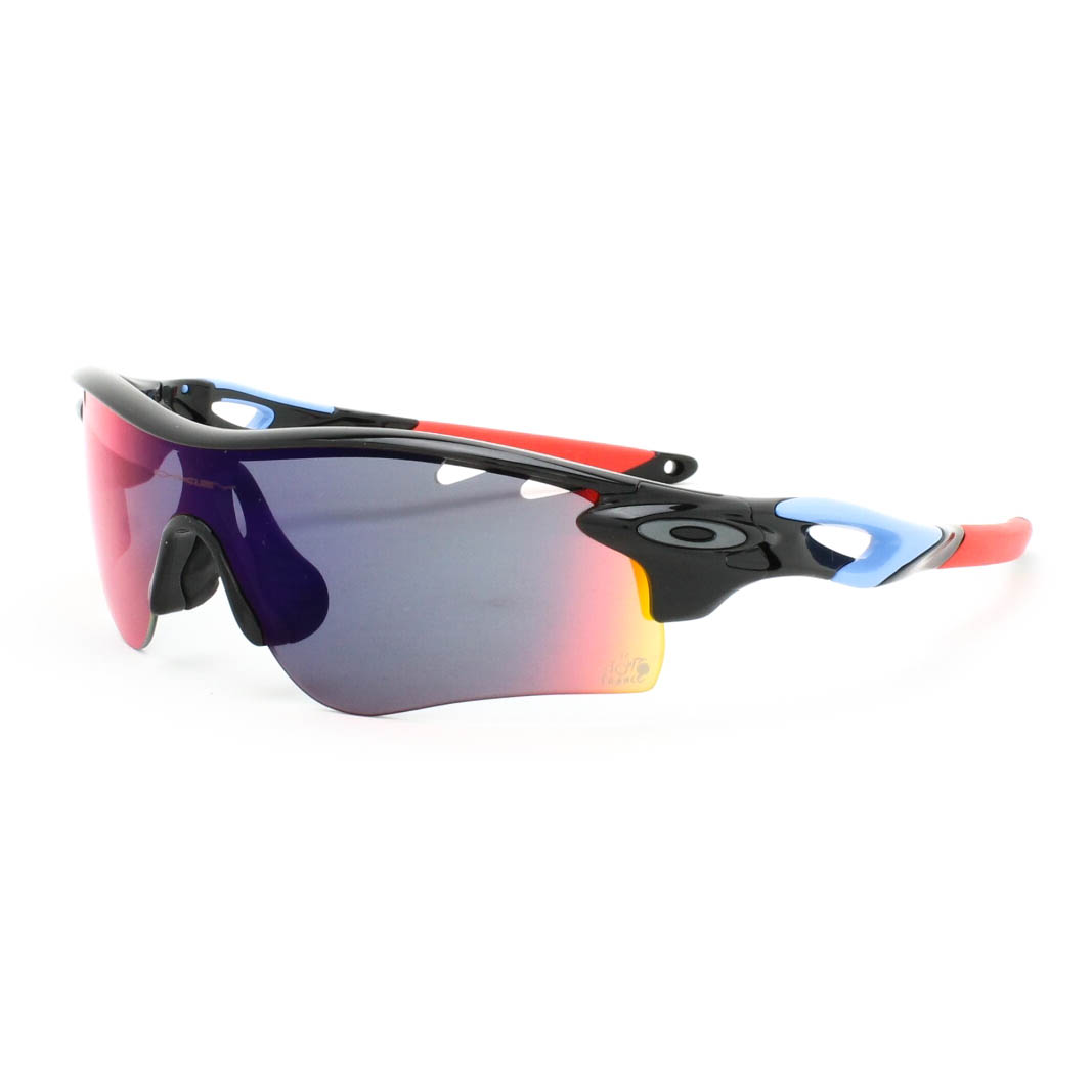 black and red oakley sunglasses  radarlock sunglasses