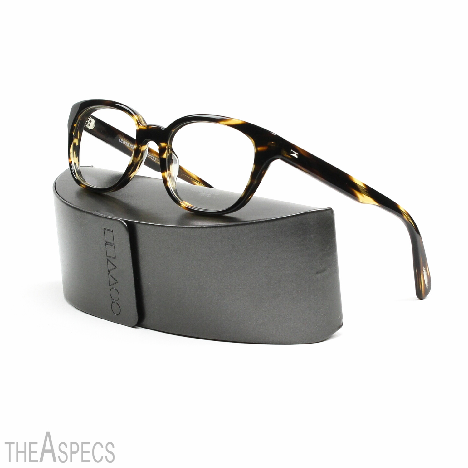 Eyeglass Frames With Interchangeable Lenses : Oliver Peoples Michaela Eyeglasses 1003 Cocobolo Brown ...