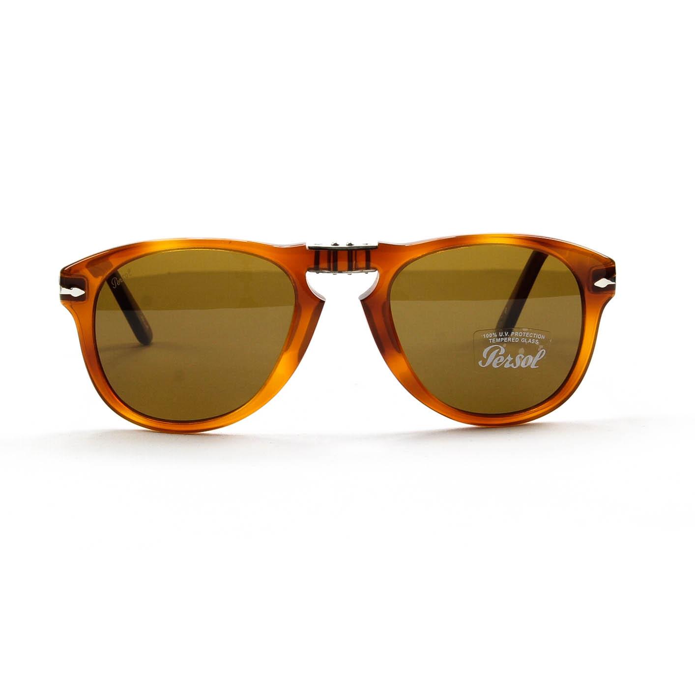 68e4419ce0e Persol 649 Sunglasses Light Havana - Bitterroot Public Library