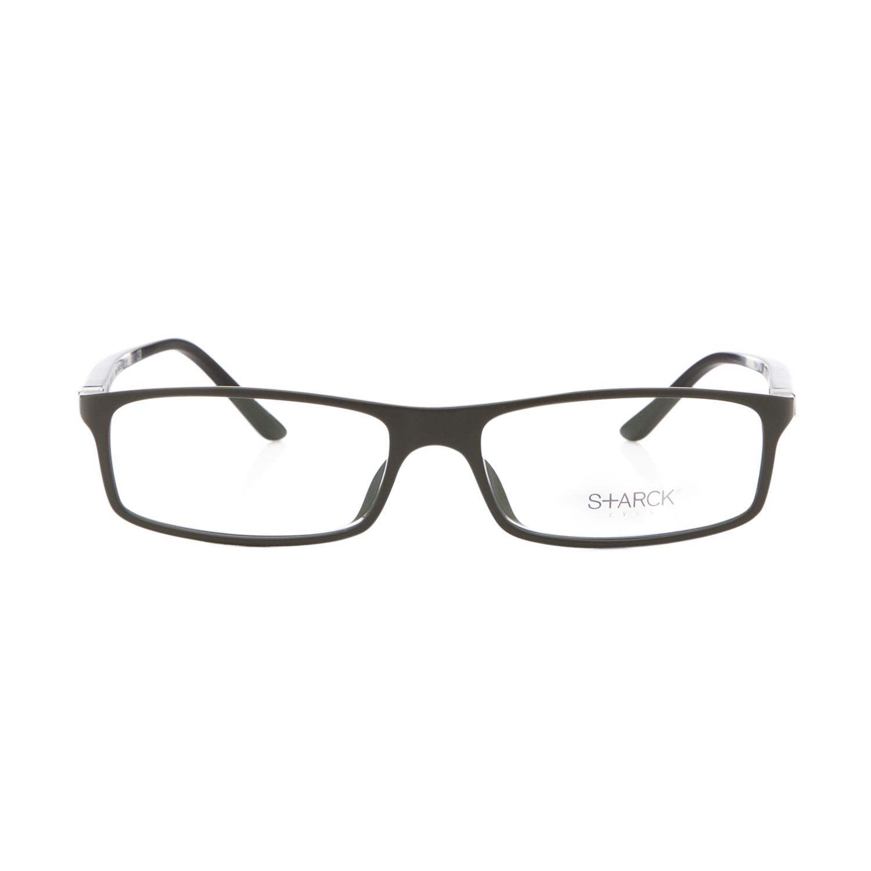 Glasses Frame Black And Clear : Starck Eyes 1015 BioZero Eyeglasses 03 Black Green Frame ...