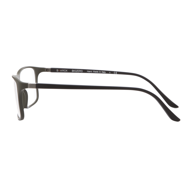 Glasses Frame Black And Clear : Starck Eyes 1043 BioZero Eyeglasses 07 Black Green Frame ...