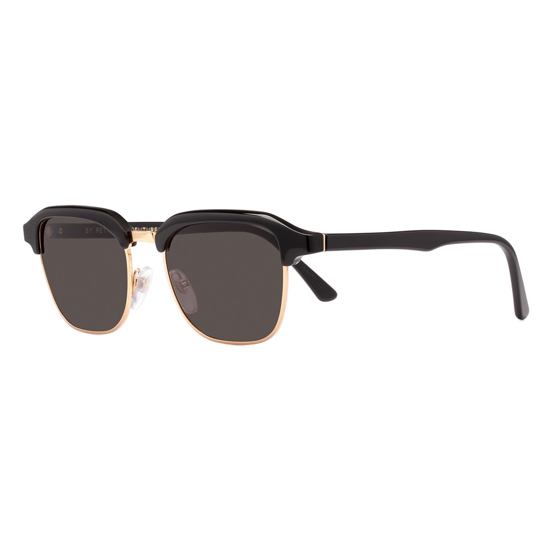 RETROSUPERFUTURE Super Gonzo Sunglasses J5P Black Gold ...