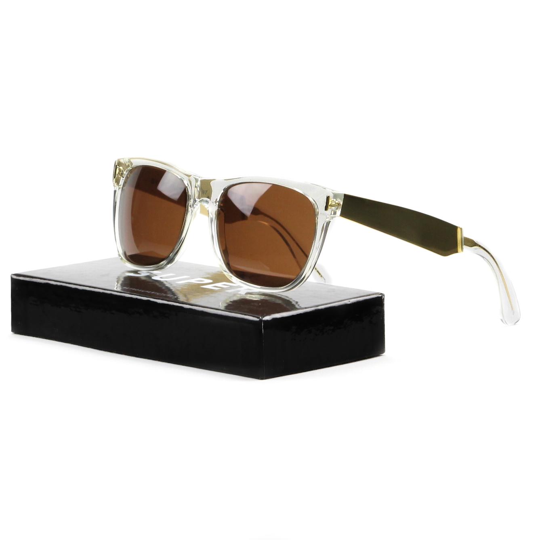 RetroSuperFuture Super Classic 892 Sunglasses Francis Crystal Gold Brown Lenses RETROSUPERFUTURE at Sears.com