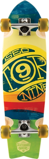 Sector 9 FLOATER 3 III YEL Skateboard Complete-9x29.25 mini at Sears.com