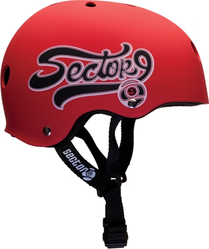 SECTOR 9 SWITCH SKATE HELMET L-RED BLK at Sears.com