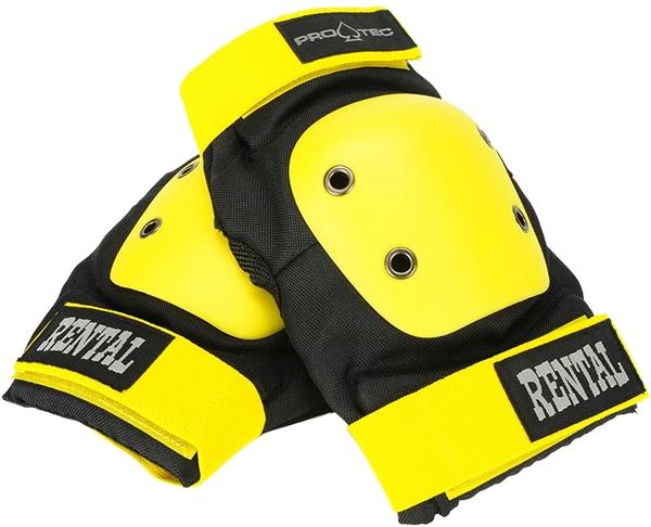 PROTEC RENTAL ELBOW XL-BLK YEL