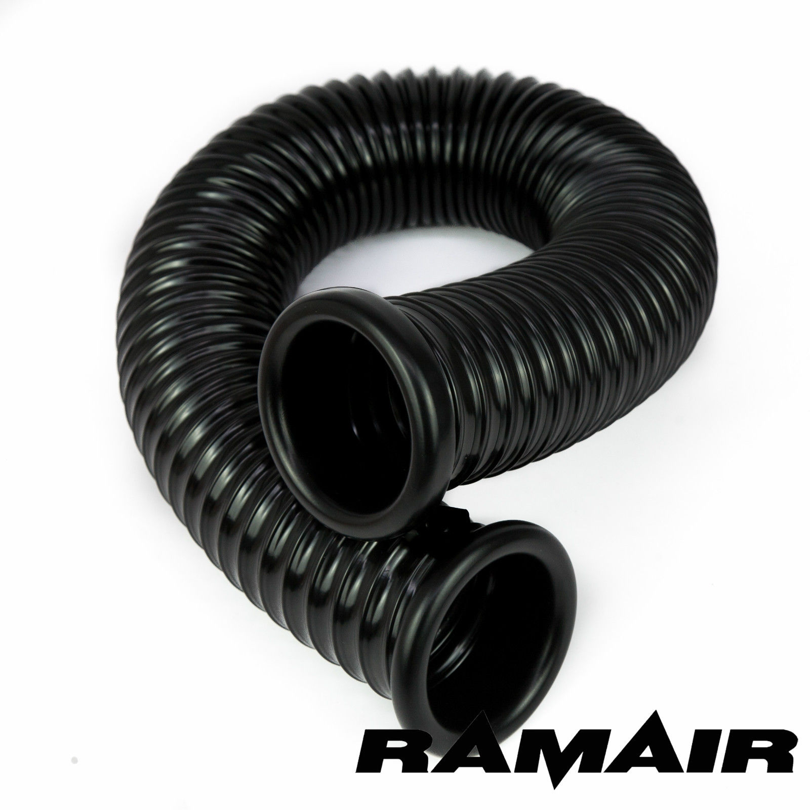 Ramair black pvc cold air feed ducting hose for induction