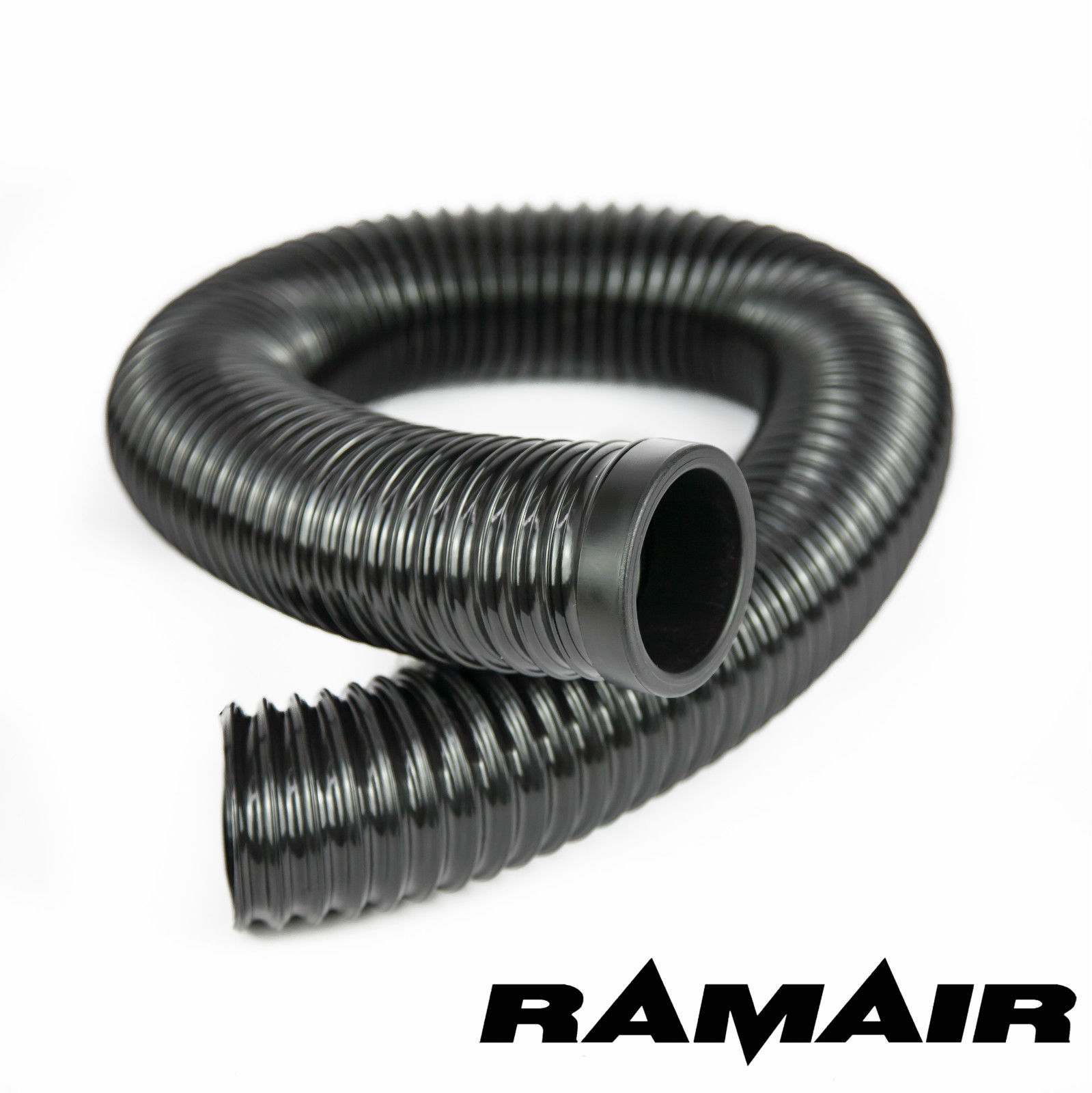 Ramair Black Cold Air Feed Flexible Hose Pipe 60mm