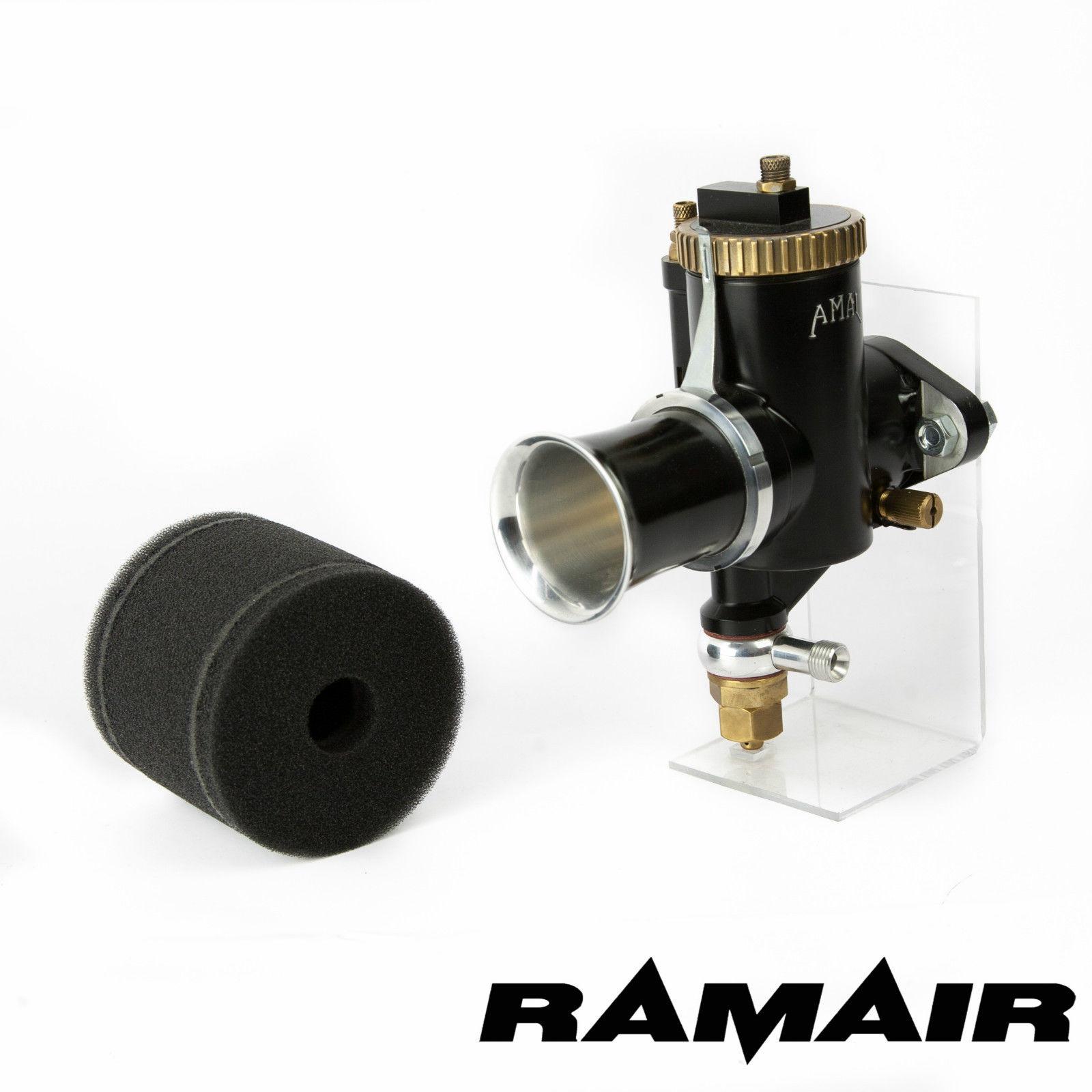 Ram Air Carb : Ramair motorcycle sock foam air filter single carburetor