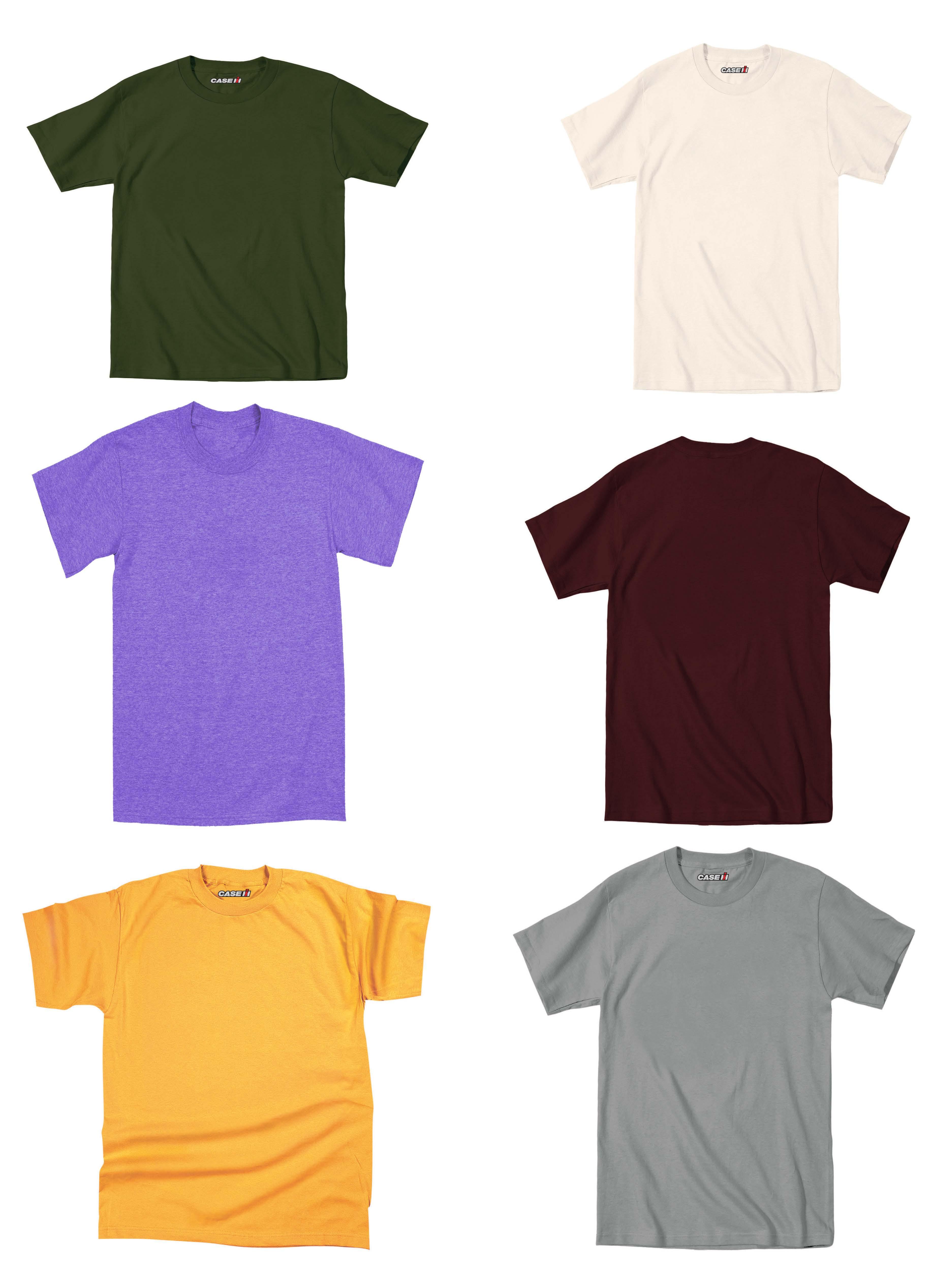 Blank T Shirts Cheap Colors