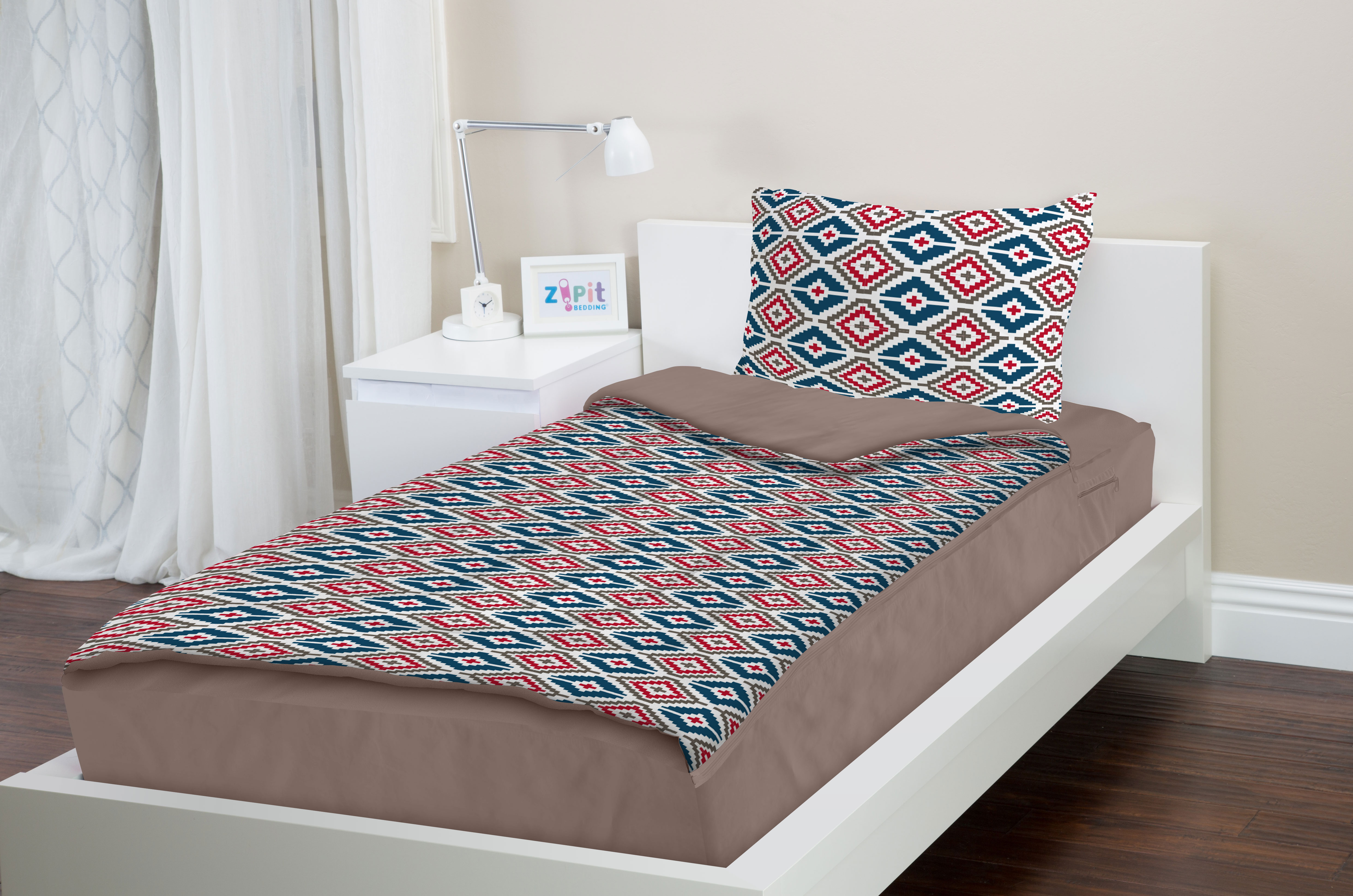 Bed sheets for teenagers - Zipit Bedding Set Zip Up Your Sheets And