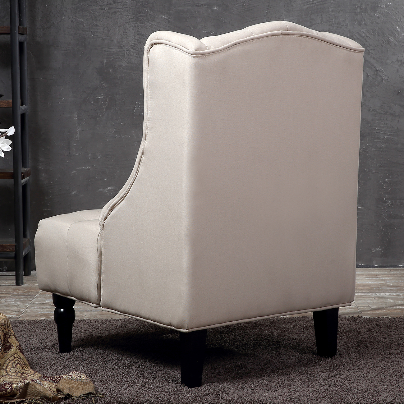 most recent high back chairs for living room