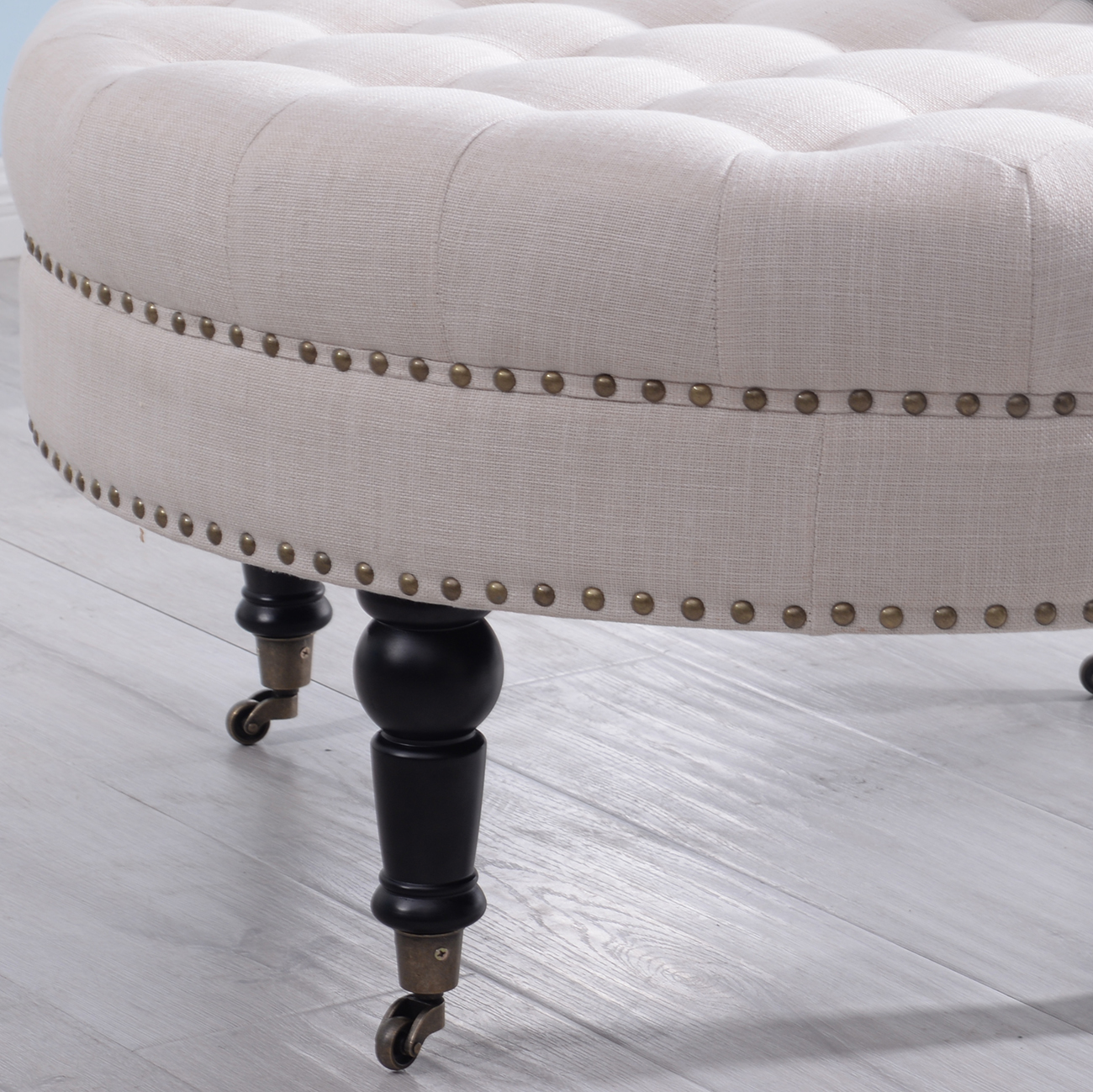 tufted ottoman round room indoor home decor seating coffee table tufted ottoman round room indoor home decor seating