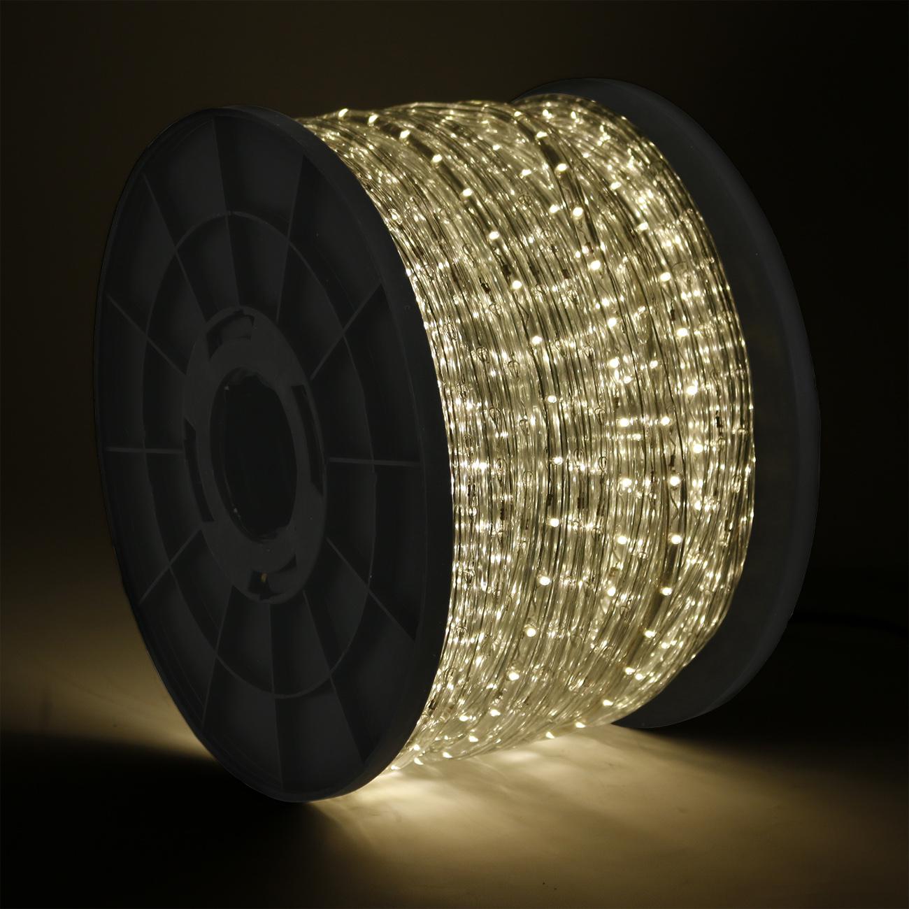 50 100 150 300ft led rope light 110v home party christmas 50 100 150 300ft led rope light 110v