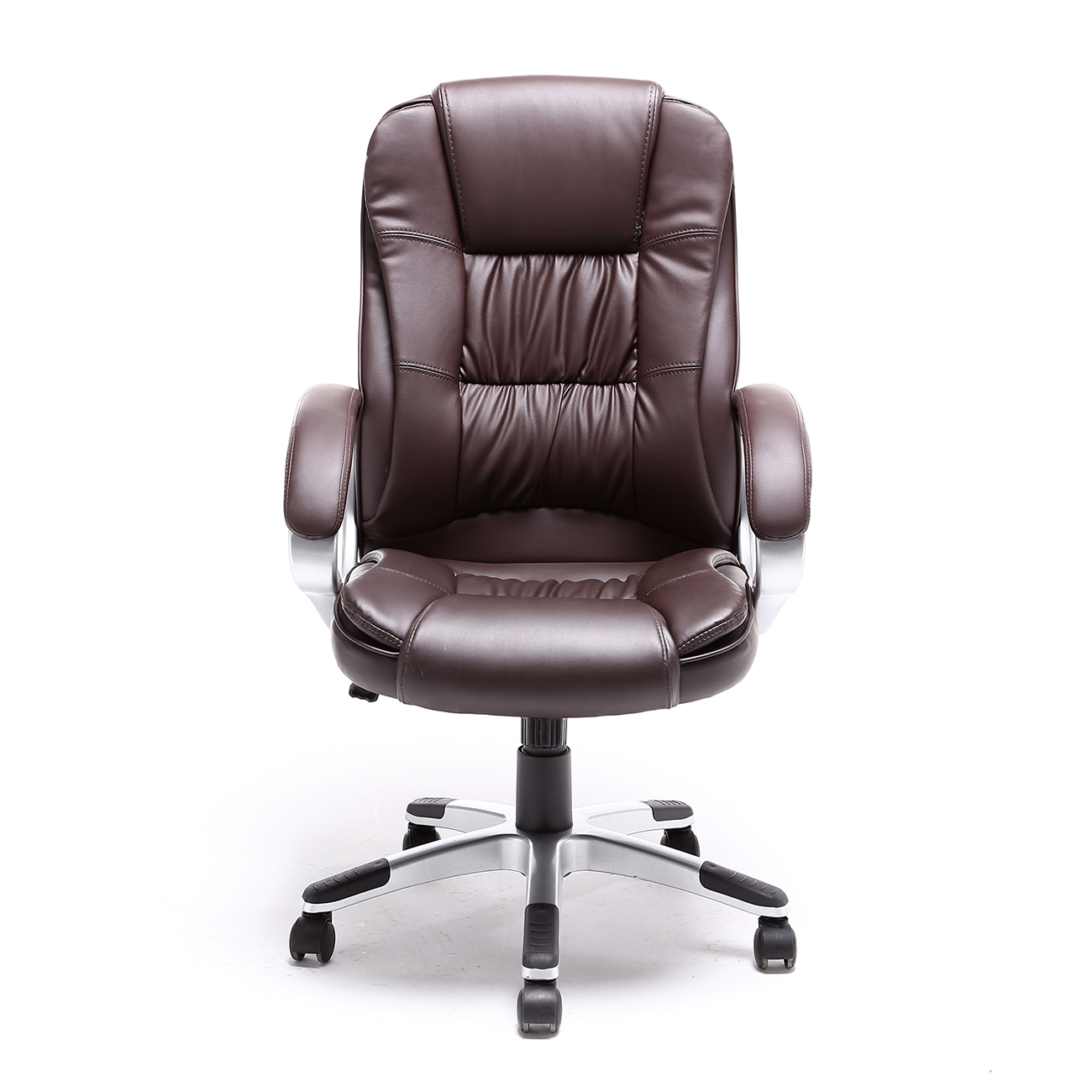 black brown white pu leather modern executive computer desk office task chair ebay. Black Bedroom Furniture Sets. Home Design Ideas