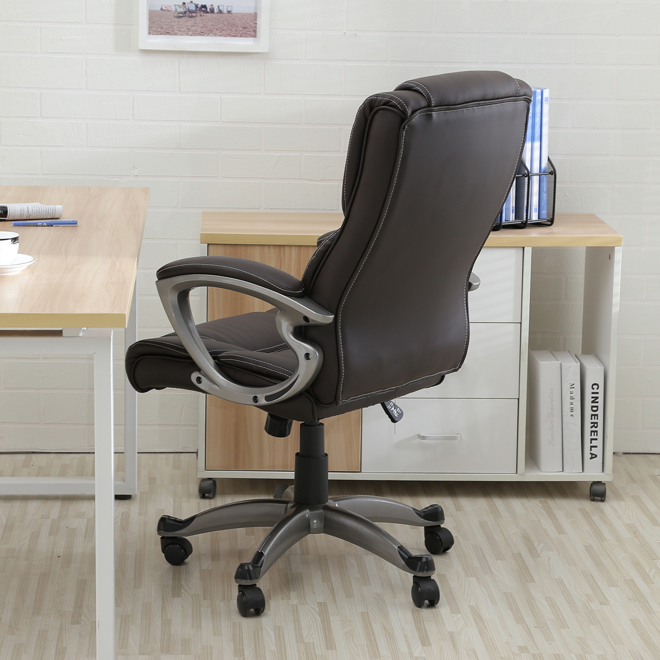 executive office chair high-back task ergonomic computer desk
