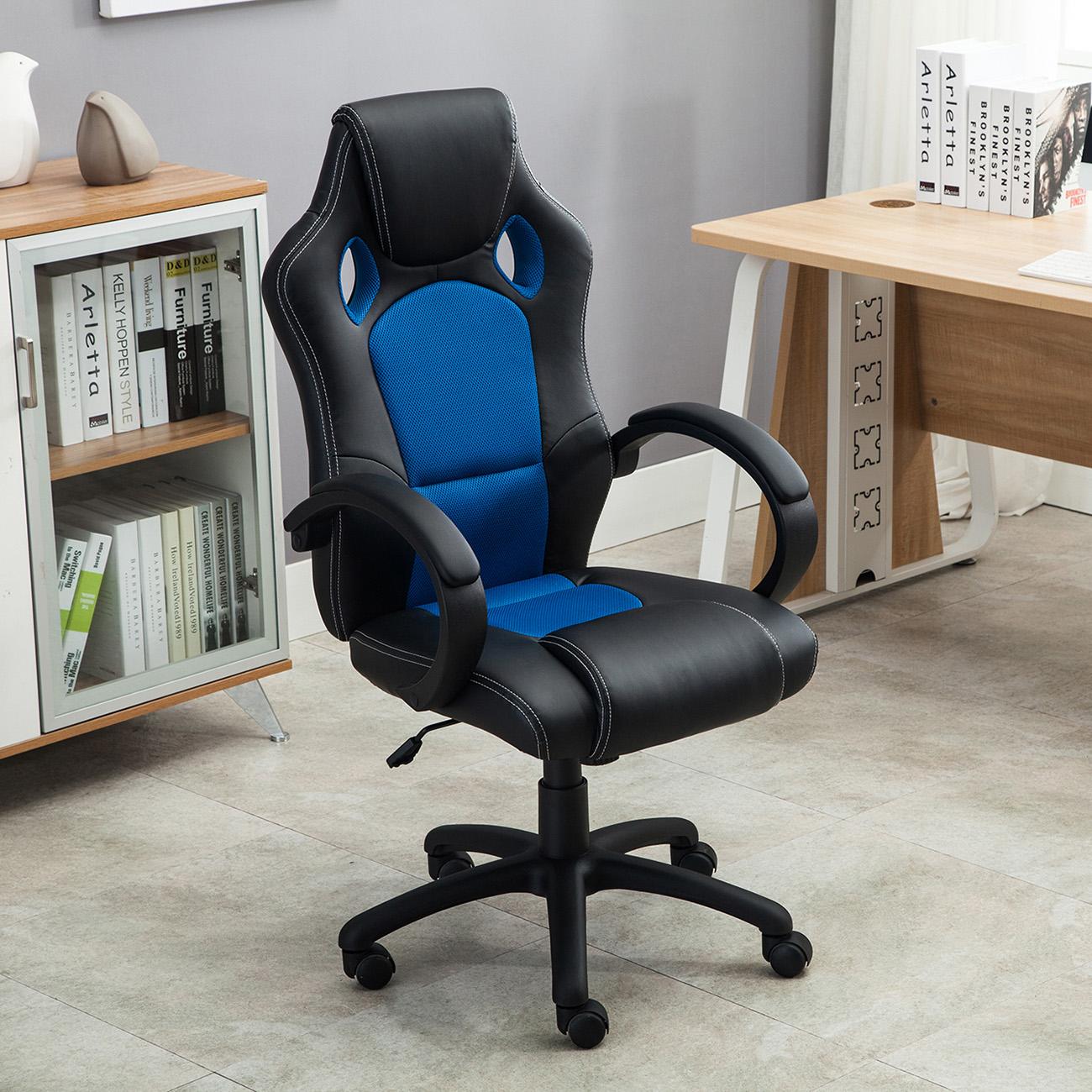 High Back Race Car Style Bucket Seat Office Desk Chair