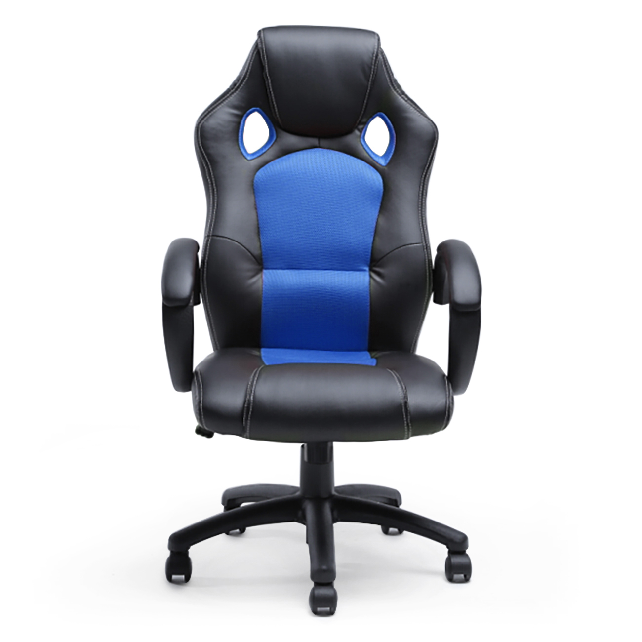 Nice Race Car Style Gaming Chair #1: 048-gm-49003-bl__1.jpg