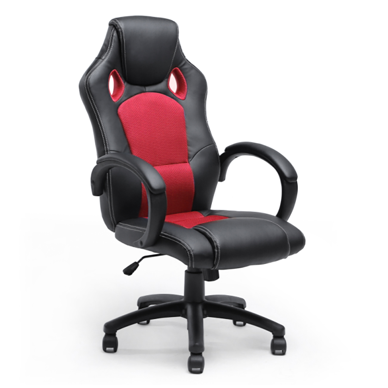 high back race car style bucket seat office desk chair gaming computer chair new ebay. Black Bedroom Furniture Sets. Home Design Ideas