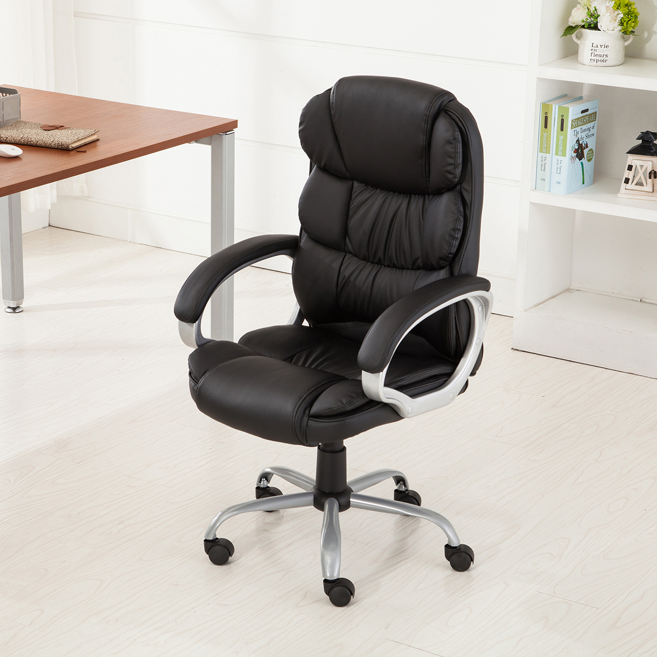 PU Leather Ergonomic High Back Executive Best Desk Task