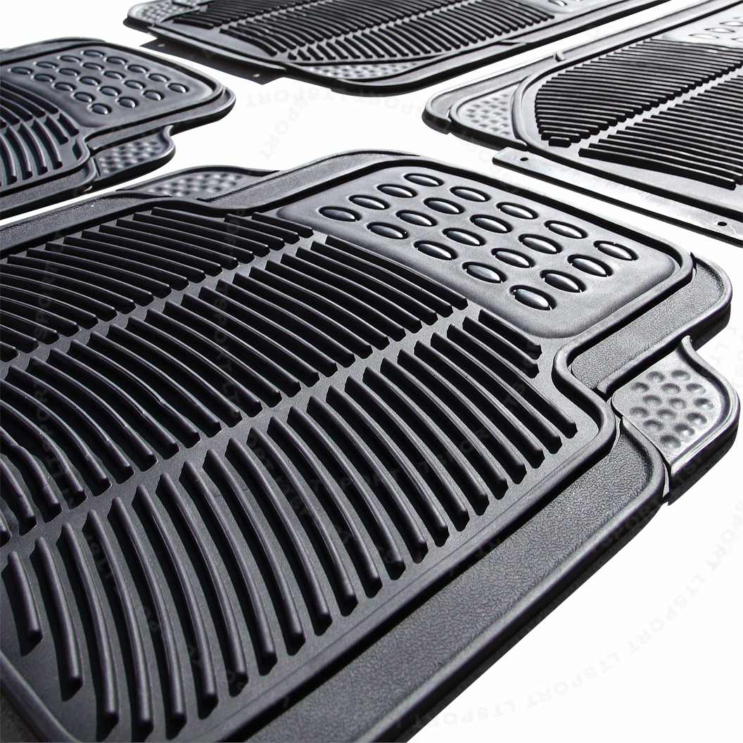 90-06 奔驰 防水橡胶 脚垫+后备箱垫 5件一套