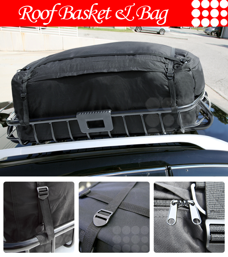 Lexus roof top rack car cargo carrier luggage basket for Rb storage