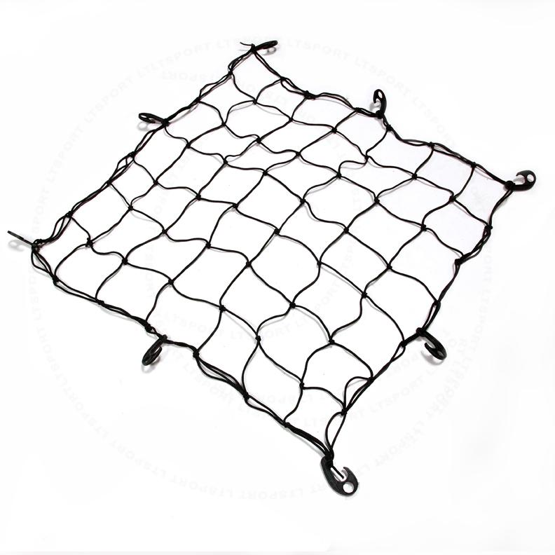 black car roof rack cargo net for 01-14 acura