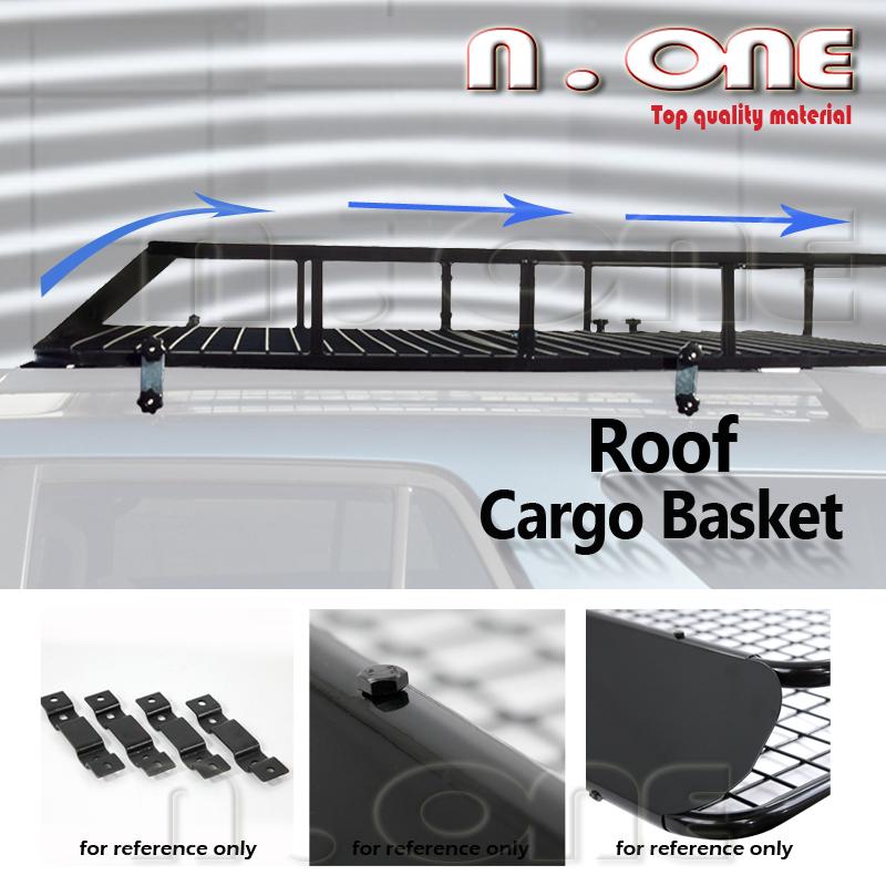 cargo roof top rack car storage luggage carrier basket wind fairing fit subaru. Black Bedroom Furniture Sets. Home Design Ideas