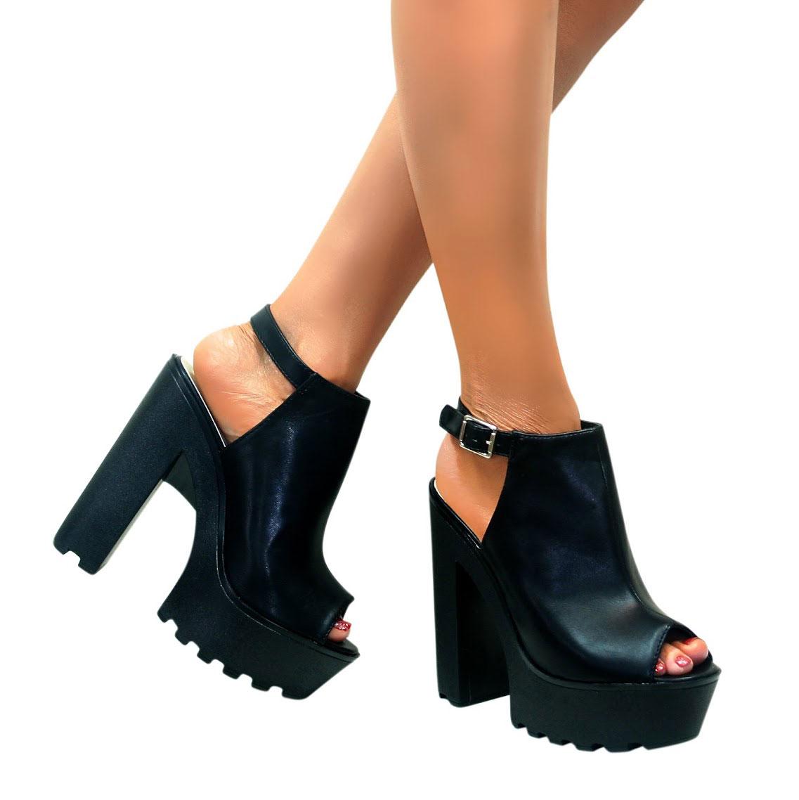 Zapatos Tacon Plataforma