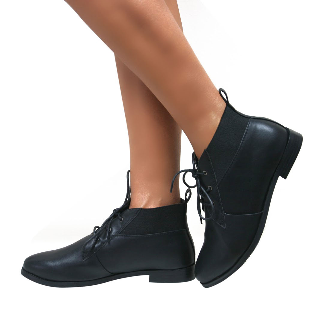 womens pixie vintage winter low heel flat