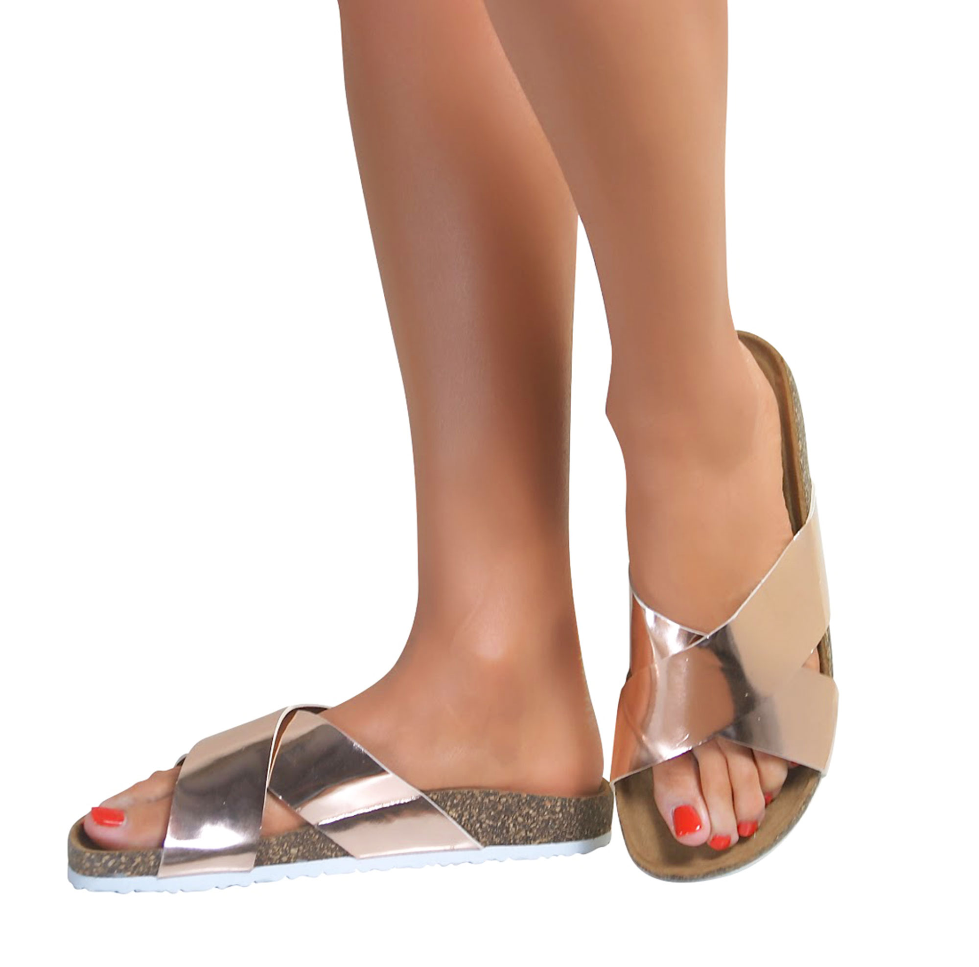 Perfect If Youre A Woman Who Likes To Let Your Shoes Do The Talking While You Do The Walking, These Gloriously Colorful Flat Sandals From Spring Step Will Say A Lot The LArstiste Santorini Is A Handpainted, High Quality Leather Womens Slideon Sandal