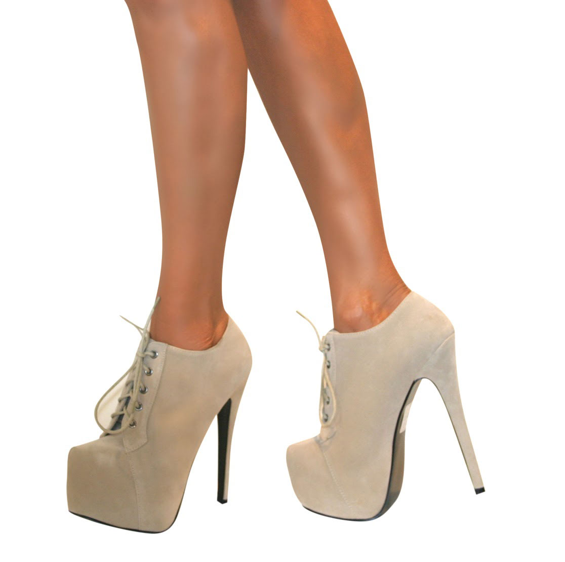 WOMENS-ANKLE-SHOE-BOOT-STILETTO-HIGH-HEEL-HIDDEN-PLATFORM-LACE-UP-SIZE-BOOTIE