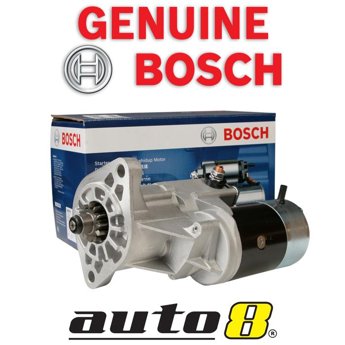 genuine bosch starter motor fits toyota landcruiser 4 2l diesel 80 100 series ebay