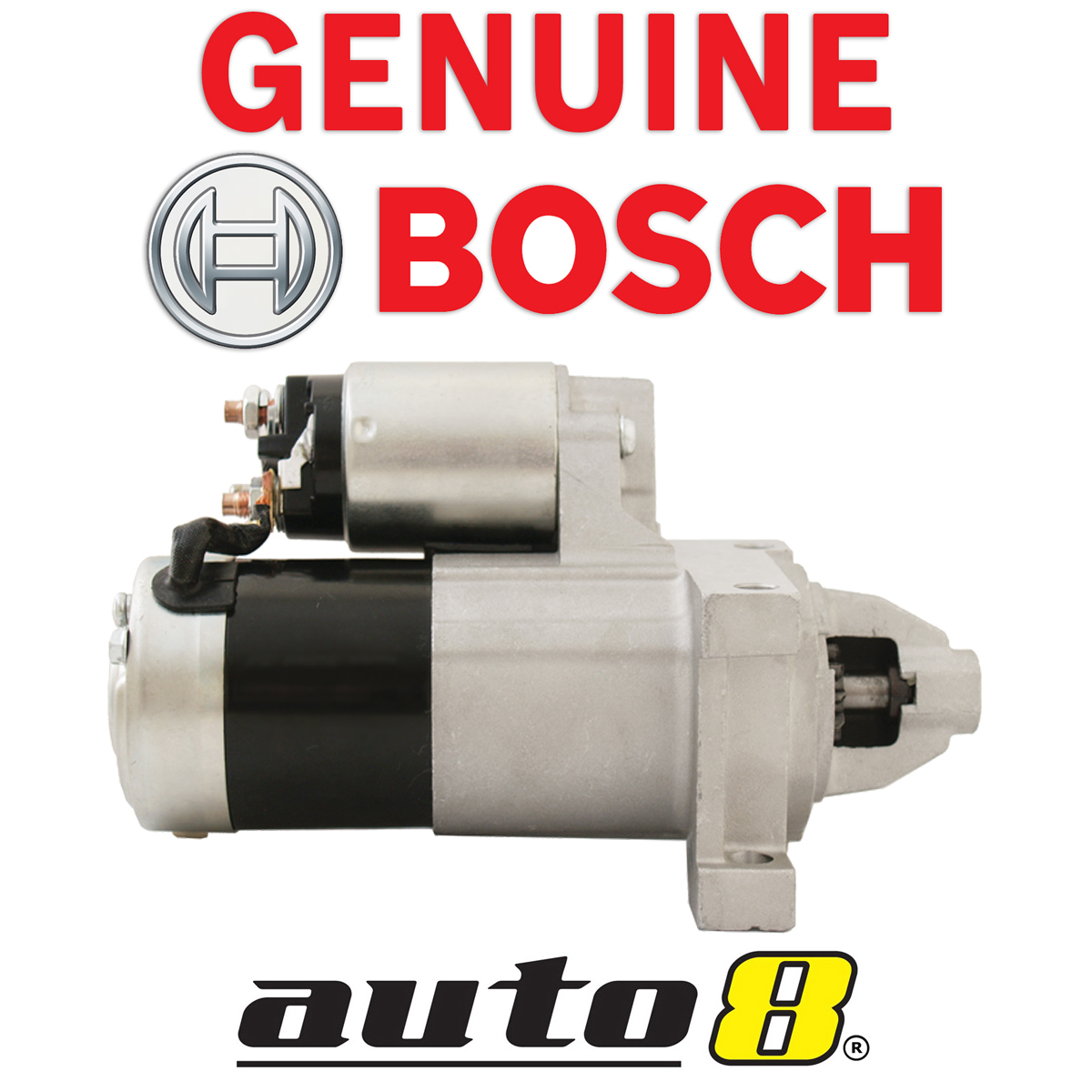 Genuine bosch starter motor for holden commodore 57l v8 ls1 vt item specifics vanachro Gallery