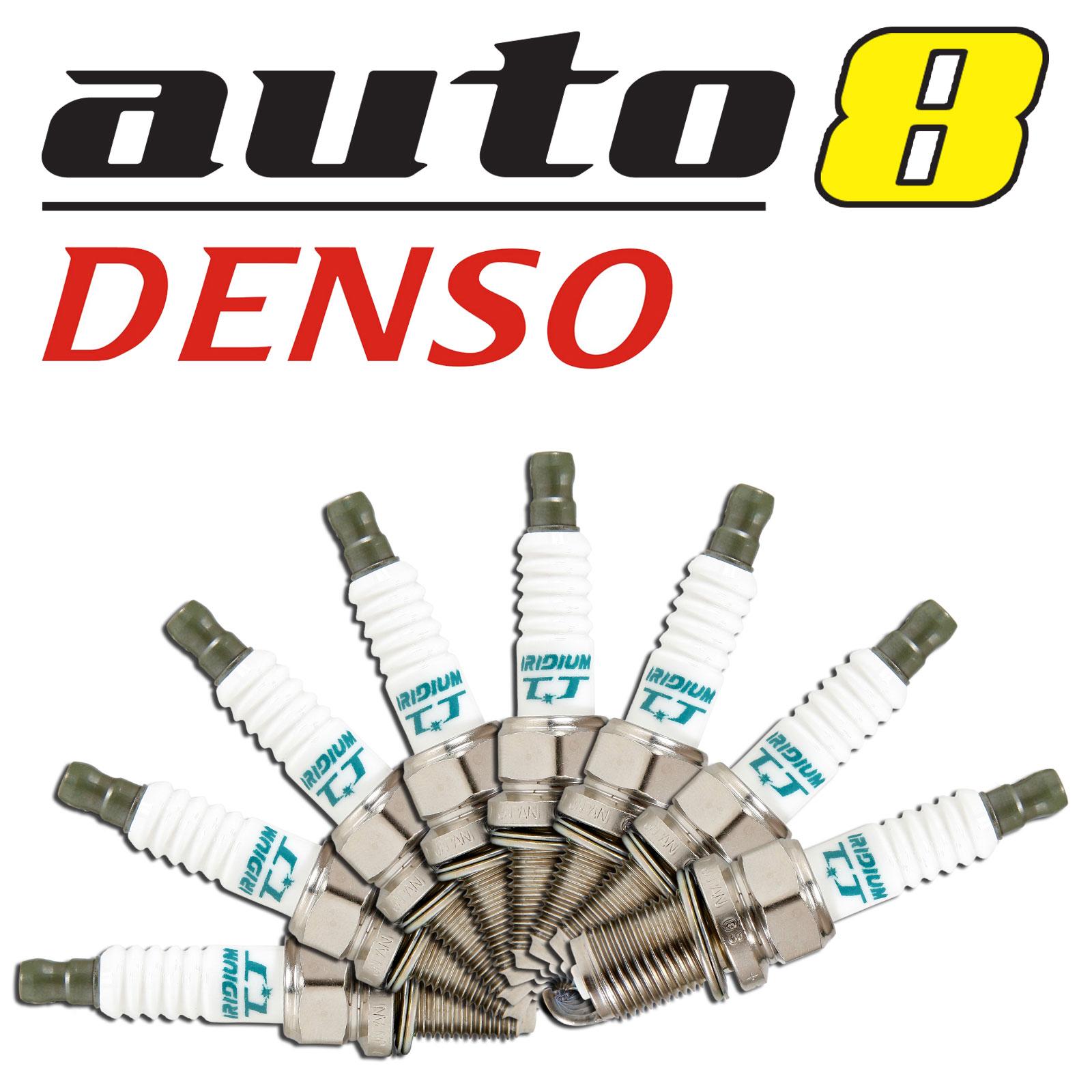 8 x Denso IK16TT Iridium TT Spark Plugs for Toyota Landcruiser 4.7L 2UZ-FE