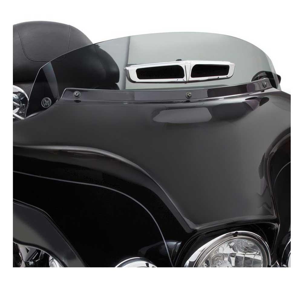 Ciro Panoramic Vented Windshield Harley Touring Models Light Medium Dark Smoke