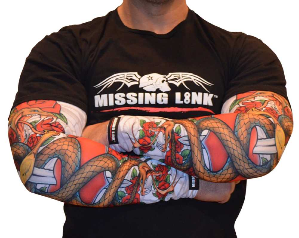 Missing link spf 50 love bites armpro tattoo compression for Sunscreen new tattoo