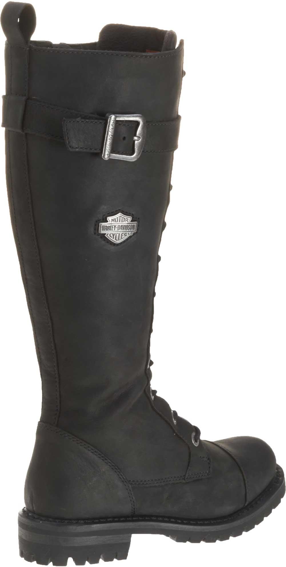 Harley Davidson Women S Savannah Black Leather 14 Inch