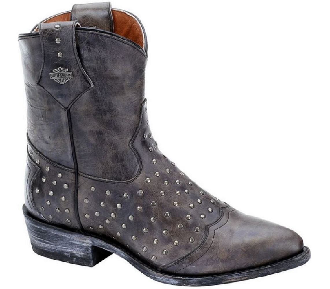 Model HarleyDavidson Womens Annalisa Brown High Cut Boot  Barnett Harley
