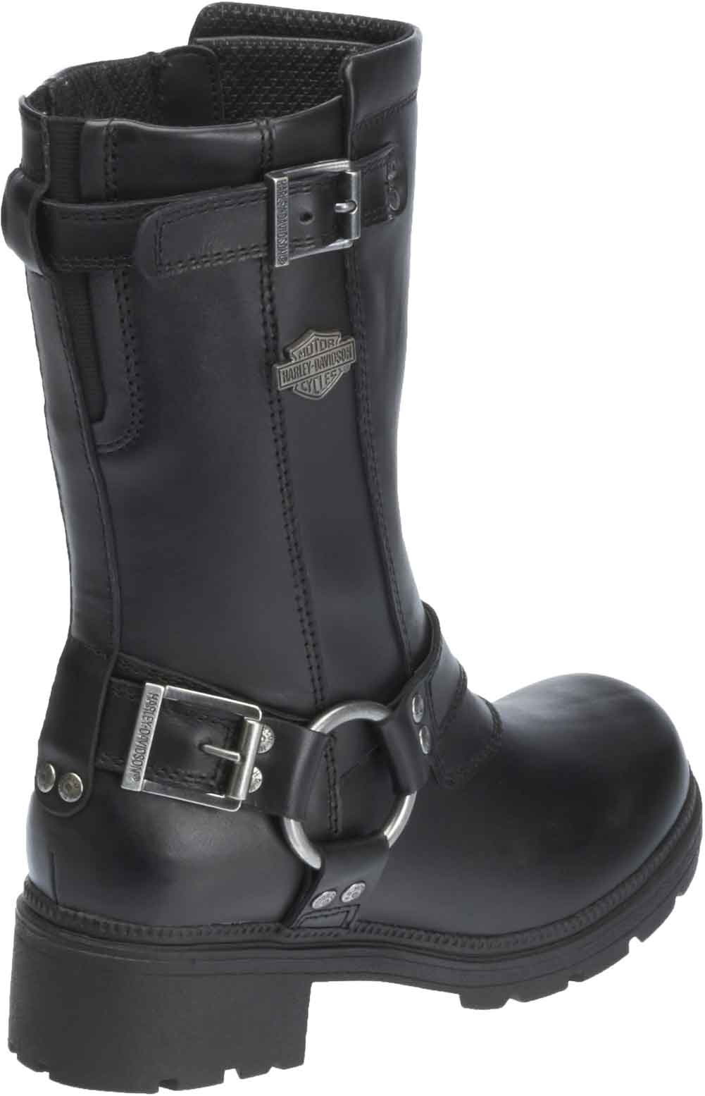 Harley-Davidson Women's Belhaven Knee-Hi Black or Brown Leather ...