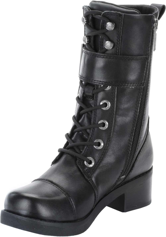 harley davidson s jammie black 8 inch boots 2 inch