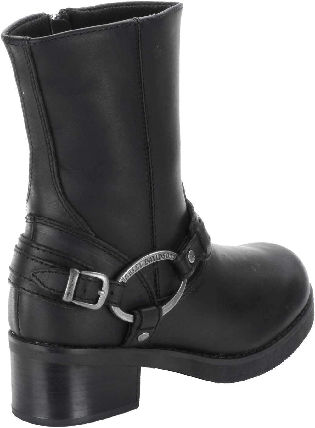 harley davidson s christa black 8 inch harness boots
