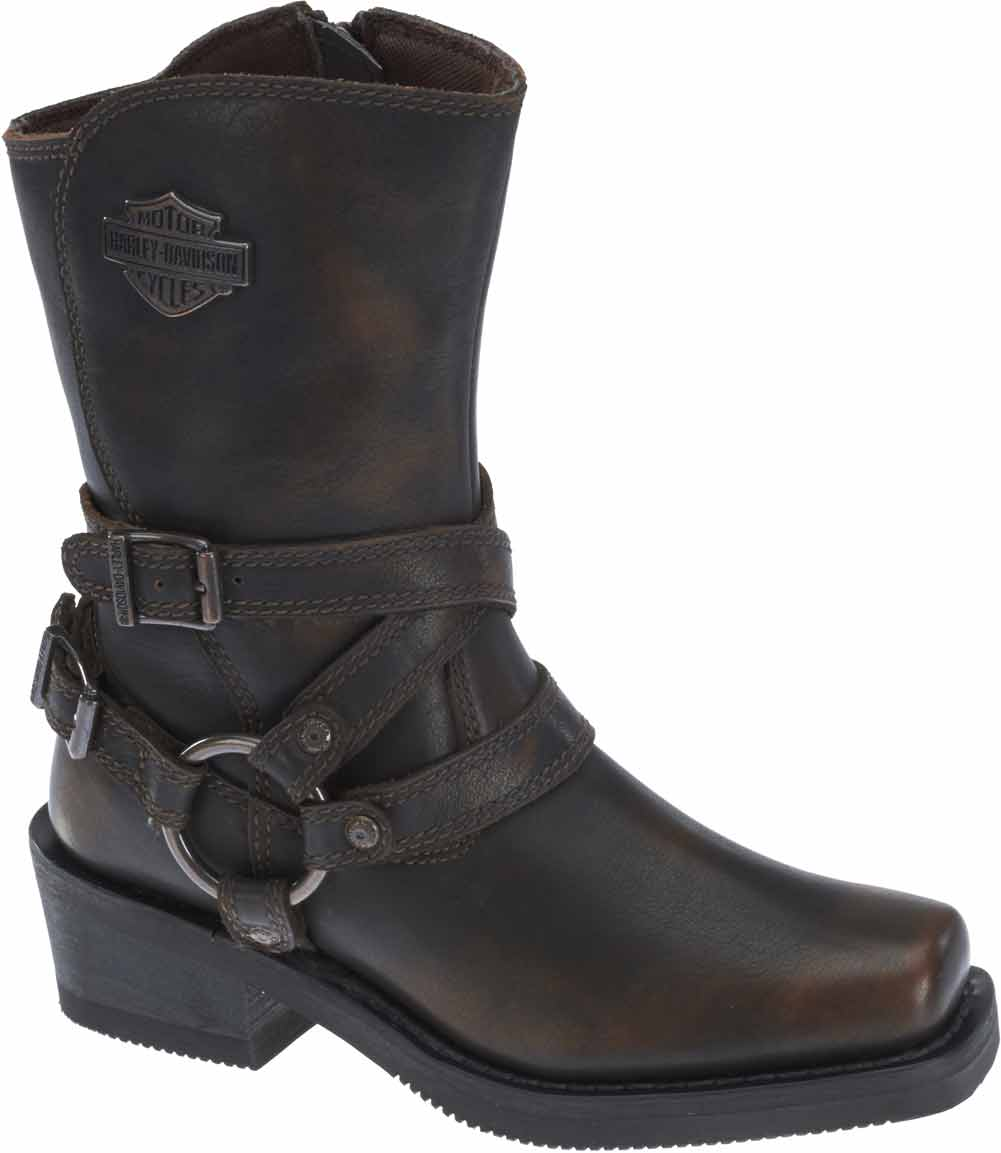 Perfect  HarleyDavidso N Women39s Bayport Brown Or Grey 5Inch Motorcycle Boots