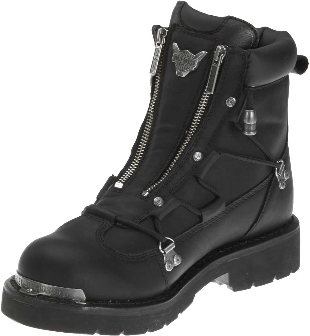 Harley Davidson Mens Brake Light Black 6 25 Inch Motorcycle Boots D91680 Wisconsin Harley Davidson