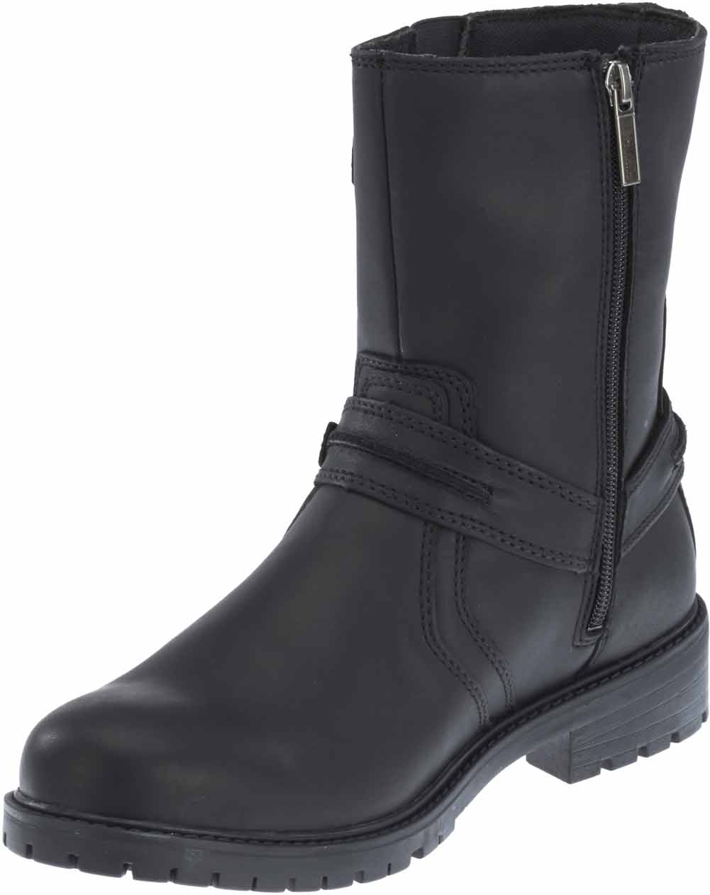 Harley-Davidson Men's Abner 8-Inch Black or Brown Motorcycle Boots ...