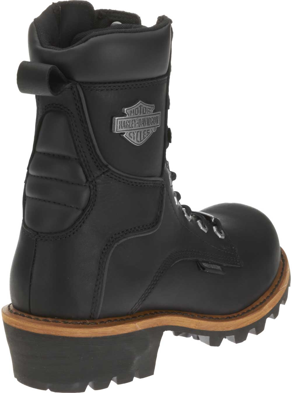 Harley Davidson Men S Tyson Logger Black 7 5 Inch