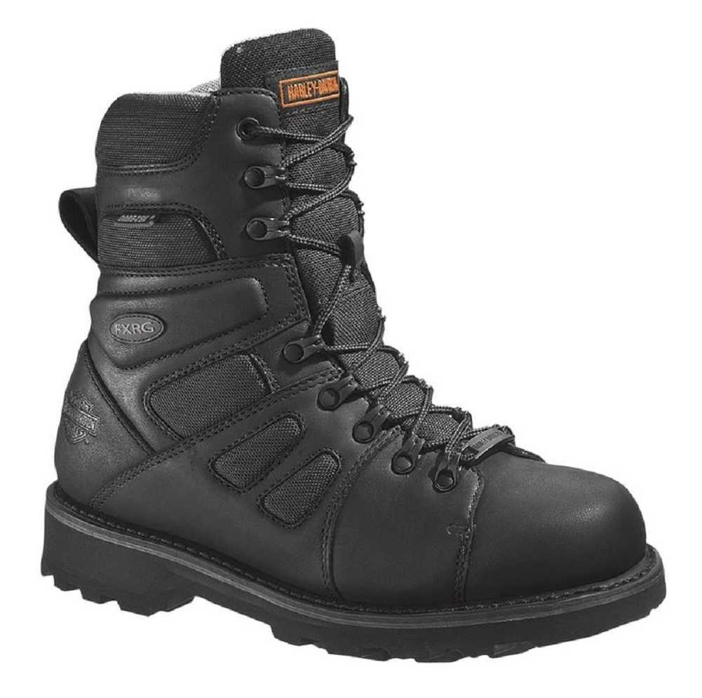 Harley Davidson Men S Fxrg  Waterproof Black Leather Boots D