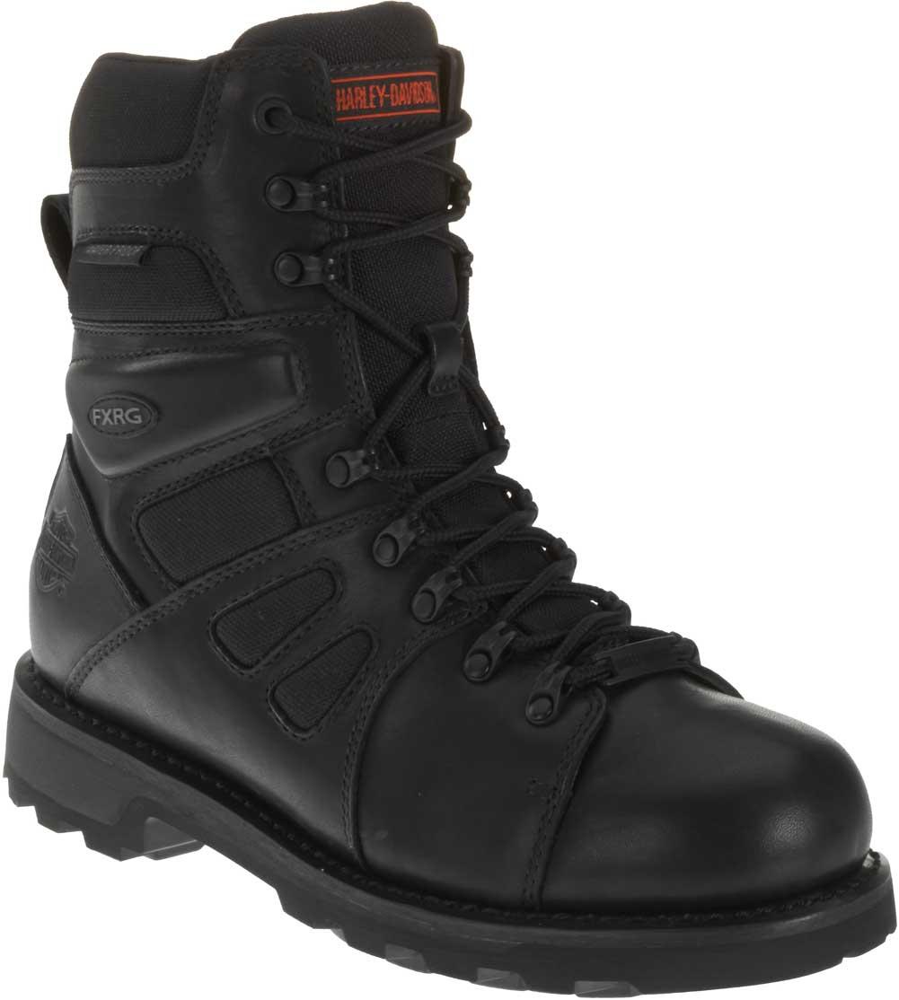 Harley Davidson Men S Fxrg  Waterproof Black Leather Boots