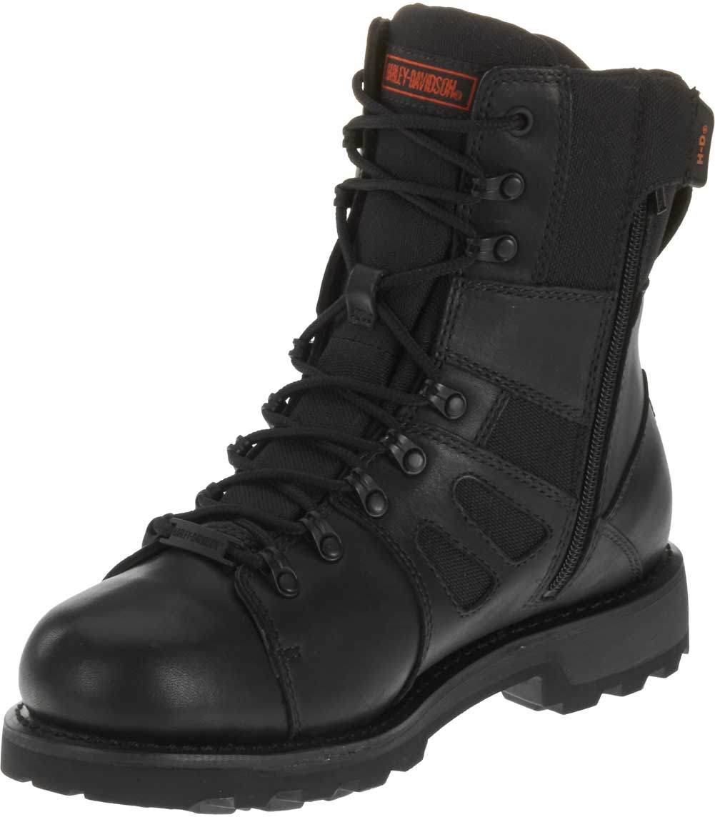 harley davidson s fxrg 3 waterproof black leather