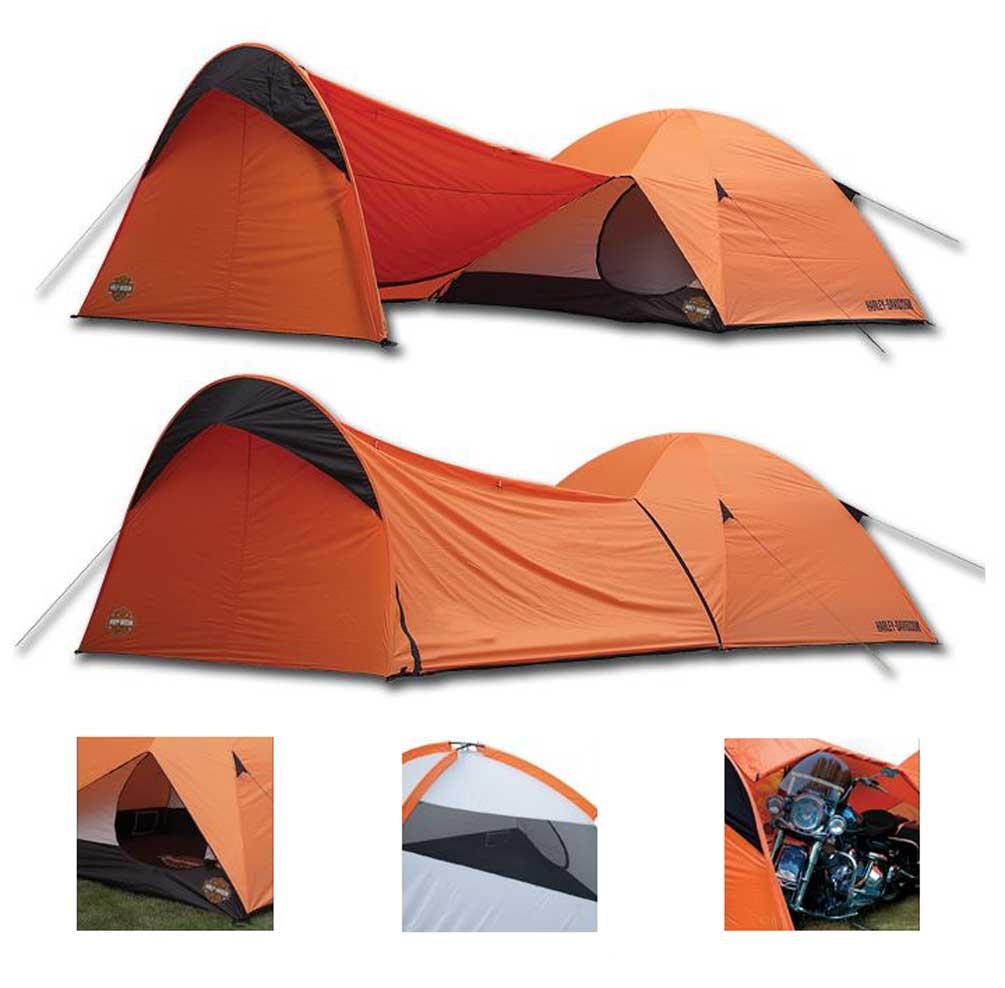 Harley-Davidson Dome Tent W/ Vestibule Motorcycle Storage